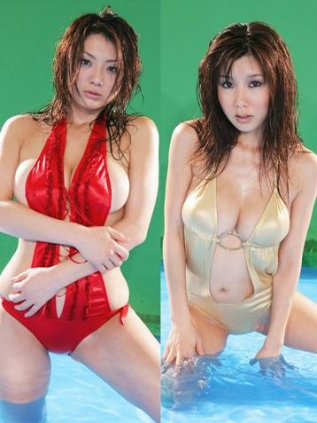 相澤仁美さんのビキニ